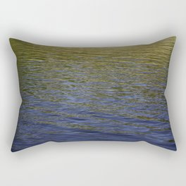 Colorful water at Lock 23 Rectangular Pillow