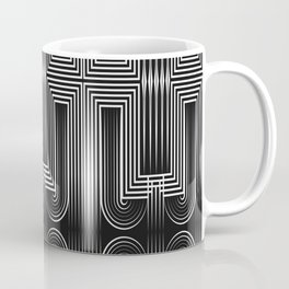 Art Deco 32 . Graffiti black and white Coffee Mug