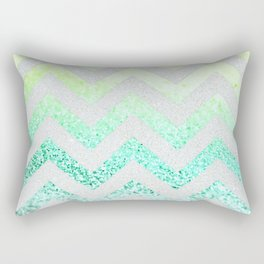 FUNKY MELON SEAFOAM Rectangular Pillow