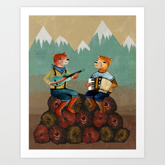 The Foresters Art Print