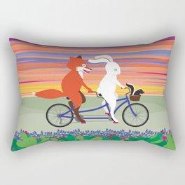 Hill Country Joyride Rectangular Pillow