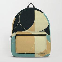 Abstract Geometric Artwork 35 Backpack