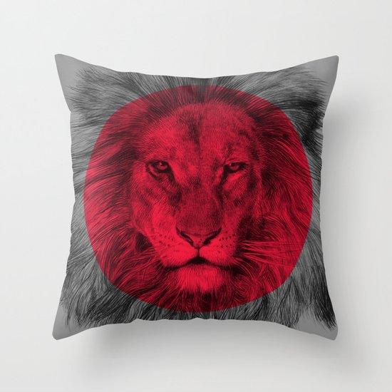 Wild 5 - by Eric Fan and Garima Dhawan Throw Pillow