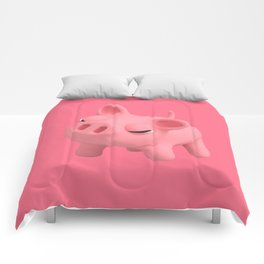 Rosa the Pig Angry Comforters