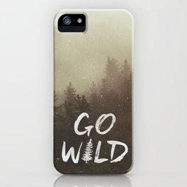 Go Wild iPhone Case
