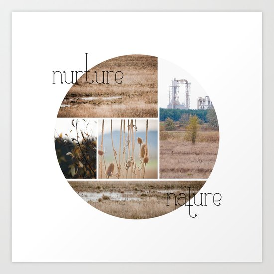 nurture|nature Art Print