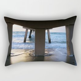 Under the Pier Rectangular Pillow