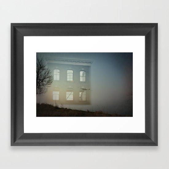 House of Empty Framed Art Print