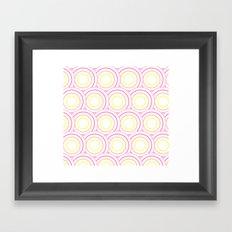 Crazy Circles  Framed Art Print