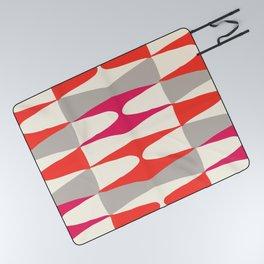 Zaha Type Picnic Blanket
