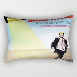 Immigrants stories Rectangular Pillow