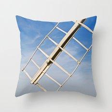 Cley Windmill, UK Throw Pillow