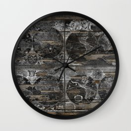 Historical Maps Wall Clock