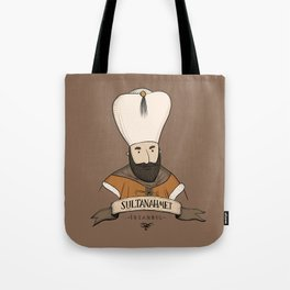 Sultanahmet, Istanbul Tote Bag