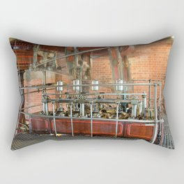 Beam engine blur Rectangular Pillow