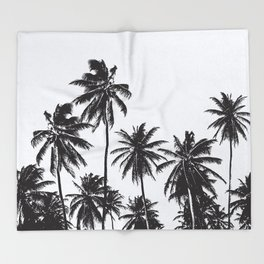 Palm 05 Throw Blanket