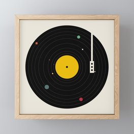 Music, Everywhere Framed Mini Art Print