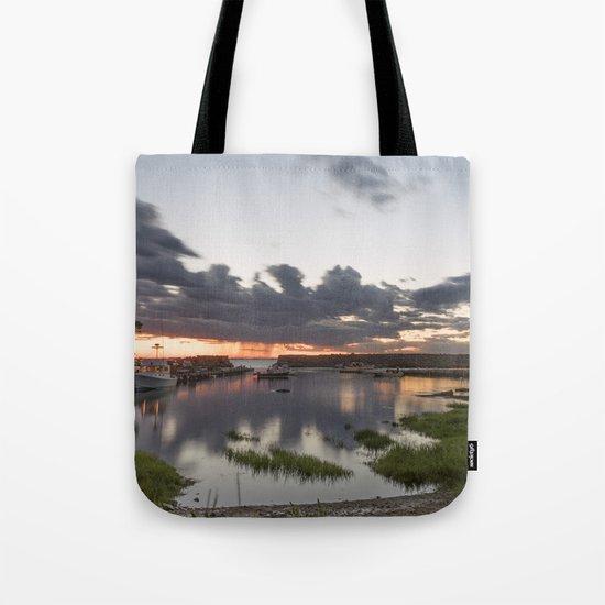 Summer Lanescove sunset Tote Bag