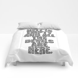 SHAKESPEARE Comforters