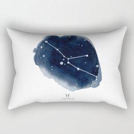 Zodiac Star Constellation - Taurus Rectangular Pillow