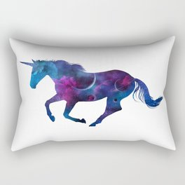 Galaxy Unicorn Space Rectangular Pillow