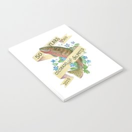 50th Anniversary Colorado Trout Unlimited Notebook