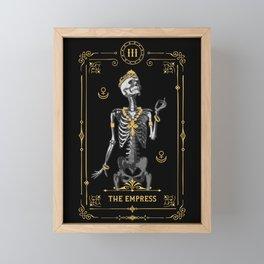The Empress III Tarot Card Framed Mini Art Print