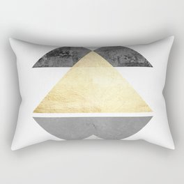 Texture Composition III Rectangular Pillow