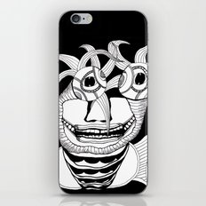 These Eyes Have Plants Coming Out Of Them iPhone & iPod Skin