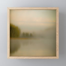 Misty Autumn Morning #decor #buyart #society6 Framed Mini Art Print
