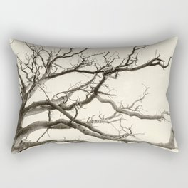 Tree Fingers of Perpetual Motion Rectangular Pillow