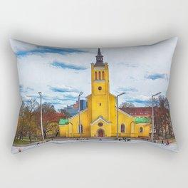 Tallinn art 5 #tallinn #city Rectangular Pillow