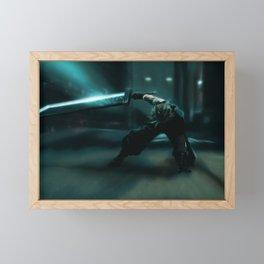 Cloud Strife, FFVII Remake Framed Mini Art Print