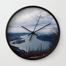 The Gorge in the Fall Wall Clock