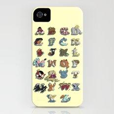 The Disney Alphabet iPhone (4, 4s) Slim Case