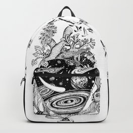 Cosmos Space Heart Backpack