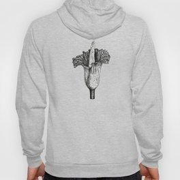 Corpse flower (Amorphophallus titanum) Hoody