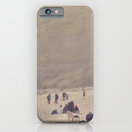 sandy sausages by the sea shore... iPhone & iPod Case