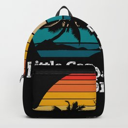 Little Gasparilla Island FLORIDA Backpack