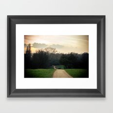 Into The Mystic - London Framed Art Print