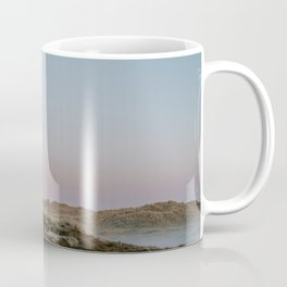 Foggy dunes on the Island Terschelling || Travel photography nature wilderness hills outdoor green Coffee Mug