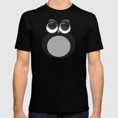 Gothic owl Black MEDIUM Mens Fitted Tee