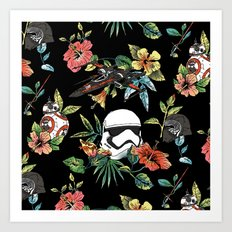 The Floral Awakens Art Print