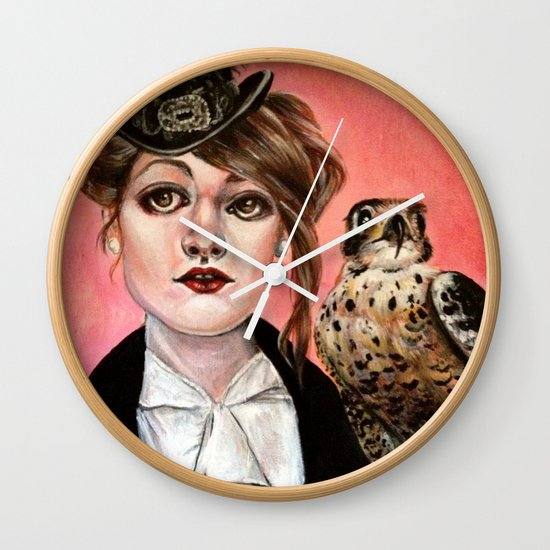 The Falcon Wall Clock