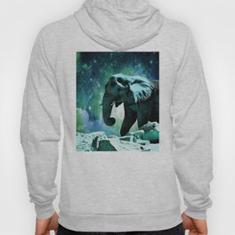Galaxy Elephant of the Planet Pachyderm Hoody