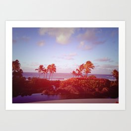 Kauai Morning Art Print