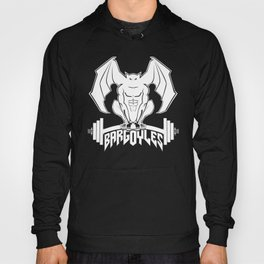 Bargoyles White Dumbbell Hoody
