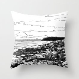 Crepuscule - Twilight Throw Pillow
