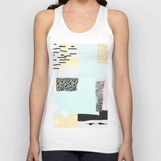 On the wall#4 Unisex Tank Top