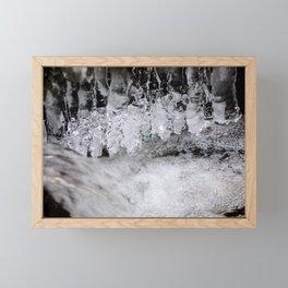 Eis Framed Mini Art Print